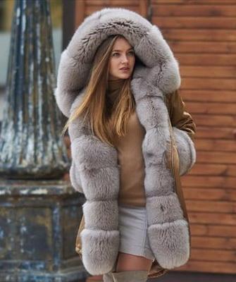 зимние куртки женские с мехом фото