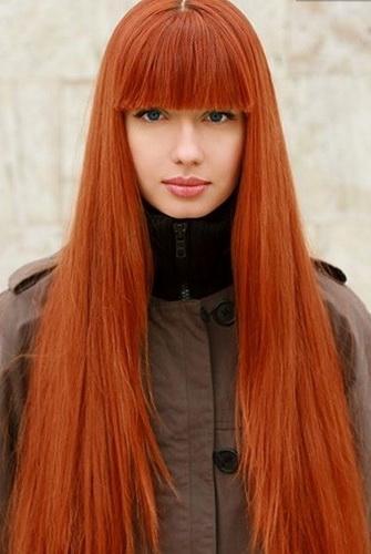 Окрашивание волос фото в рыжий цвет волос фото