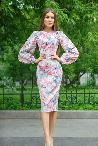 Летние платья в стиле годе
